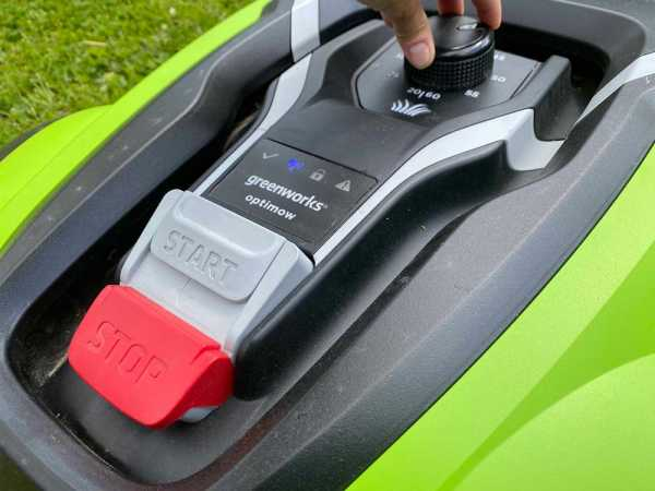 Greenworks Optimow 10 chassi