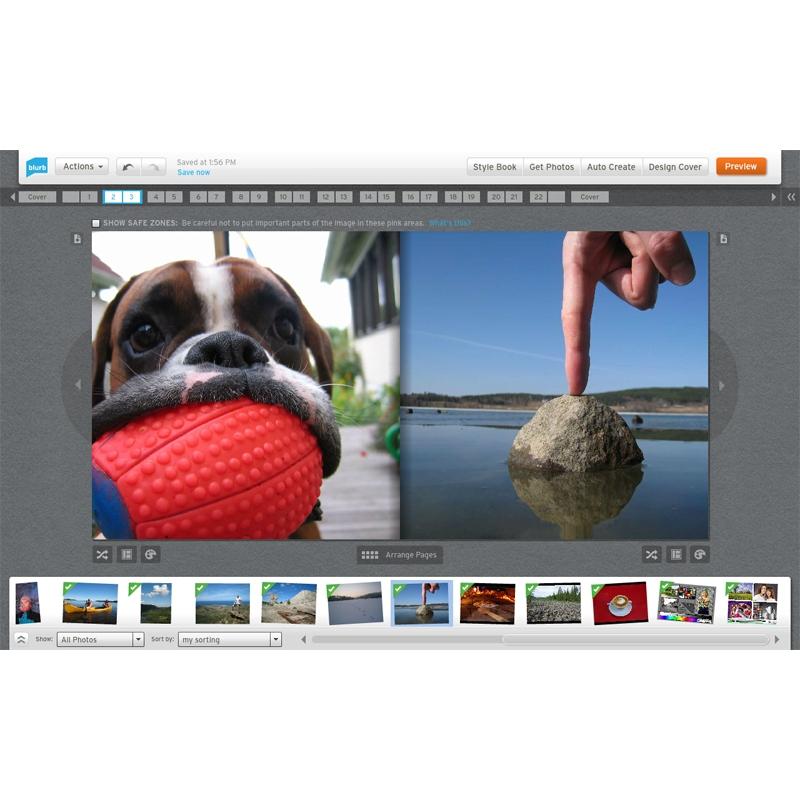 fotobøker test Vossevangen