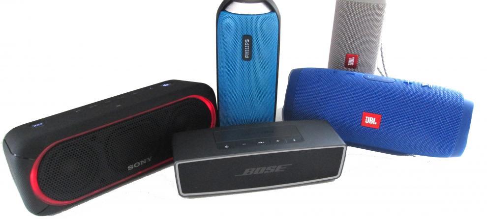 Bluetooth høyttaler  10 modeller i test (2018) - Ekspertenes vurderinger -  Best-i-test.nu 78933688bf3d7