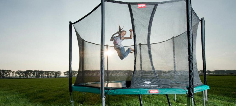 Test trampoline europris